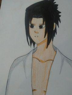 Sasuke z anime Naruto.