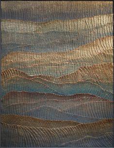 (technique mixte, dorure à la feuille, peinture minérale)129,5x98,5 cm Inspiration, Ideas, Art, Foil Stamping, Weaving, Paint, Home, Biblical Inspiration, Art Background