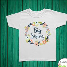 Big Sister Shirt, Big Sister Announcement, Big Sister Gift, Girl Toddler Shirt, Big Sister Little Sister Outfits, Big Sister Onesie - http://www.babies-clothes.info/big-sister-shirt-big-sister-announcement-big-sister-gift-girl-toddler-shirt-big-sister-little-sister-outfits-big-sister-onesie.html