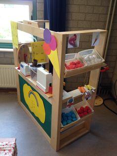 Mijn ijskraam waar kinderen zelf ijsjes kunnen maken en verkopen.