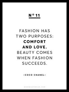Fashion design Quotes - Known for her chic and empowering words of wisdom, we're sharing 13 rare Coco Chanel quotes because after all, she is the queen of fashion Great Quotes, Quotes To Live By, Life Quotes, Inspirational Quotes, Mindset Quotes, Wisdom Quotes, Motivational, Fashion Designer Quotes, Fashion Quotes