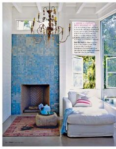Awesome fireplace!