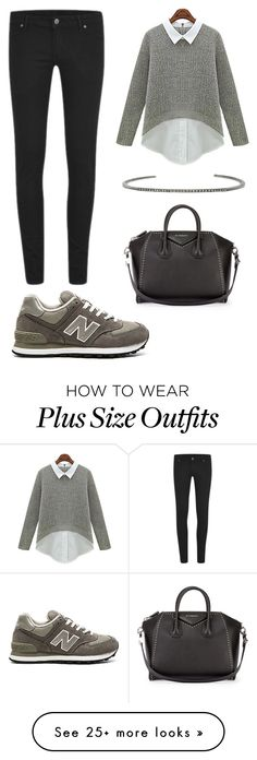 """""""Untitled #376"""" by gigi3646 on Polyvore featuring Cheap Monday, New Balance, ADORNIA and Givenchy"""