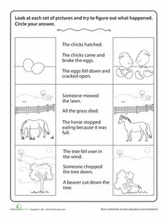 Worksheets: Story Comprehension: Drawing Conclusions Reading Comprehension Games, Comprehension Strategies, Reading Strategies, Reading Skills, Predicting Activities, Reading Activities, Kindergarten Drawing, Kindergarten Lessons, Kids Math Worksheets