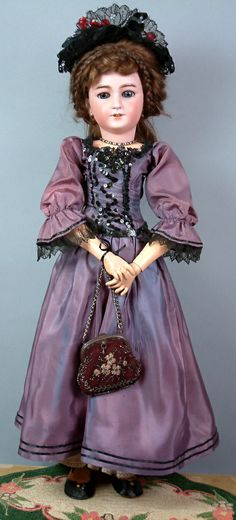 "26"" Simon & Halbig 1159 All Antique Lady"