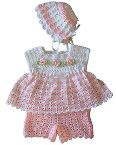Jamie Baby Set Crochet Pattern