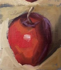 "Daily Paintworks - ""Saucy"" - Original Fine Art for Sale - © Philla Barkhorn"