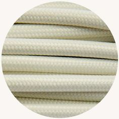 White Fabric Cable