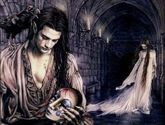 Vampires, Victoria Frances, another inspiration picture of Lord and Lady Vangervale