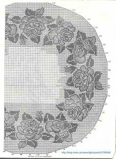 Вязание крючком дневники схемы