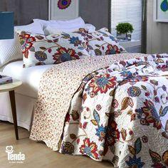 Inverno. Tempo de ir pra cama mais cedo e sair da cama mais tarde. Esse é só um dos muitos motivos que você tem pra investir no look do seu quarto!   P R O M O Ç Ã O de J O G O S de C A M A ✓ Solteiro - De R$99,90 por R$69,90 ✓ Casal - De R$129,90 por R$99,90 ✓ Queen - De 149,90 por R$119,90 ✓ King - De R$169,90 por R$129,90