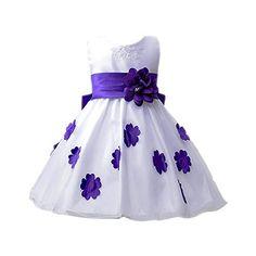 Nuova offerta in #abbigliamento : Wolfteeth Floreale Principessa Vestito Nozze Ragazze Festa per il Compleanno Partito (Viola4-5 Anni) a soli 13.59 EUR. Affrettati! hai tempo solo fino a 2016-09-04 22:03:00