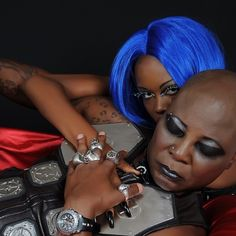 GOSSIP, GISTS, EVERYTHING UNLIMITED: PHOTOS- Charly Boy and His Virgins