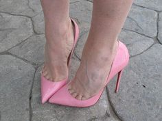High Heels Shoes Fashion: pink pumps