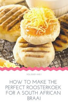 How to make the perfect Roosterkoek for a South African braai - Rachel Dodd - African Food South African Desserts, South African Dishes, South African Recipes, South African Decor, Africa Recipes, Braai Recipes, Cooking Recipes, Oven Recipes, Recipies