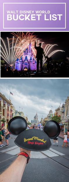 Walt Disney World Bucket List