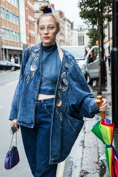 London Fashion Week SS17 Street Style: Day 1                                                                                                                                                                                 More
