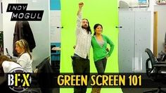 This video tutorial from IndyMogul shows you how to build a cheap and portable green screen.    This week on Backyard FX, Indy Mogul build a portable green screen for under $40 that you can take with you on shoots. Erik also gives you the basics on how to correctly light a green screen shoot and how to replace the green screen in post-production.