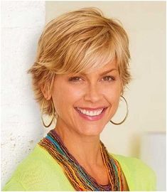 Image result for Short Hairstyles for Women Over 40 with Thin Hair