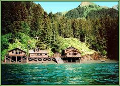 Sadie Cove Wilderness Lodge, Kachemak Bay, Homer, Alaska, fishing ...
