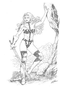 Taarna : Al Rio Comic Art