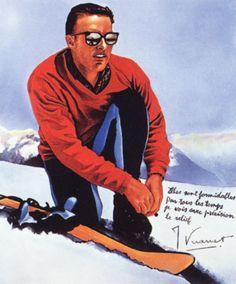 Jean Vuarnet in 1960. RIP (1933-2017)