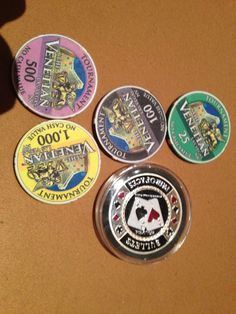 Venetian Poker Tourny chips. Unfortunately it's not used for Open Face Chinese just yet