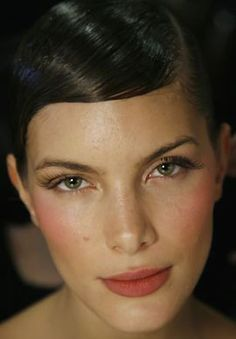 Fall 2014, Flushed cheeks and a healthy lip color will be seen everywhere.