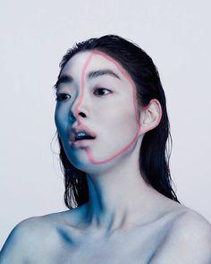 Experimental Abstract Portraits – Fubiz Media