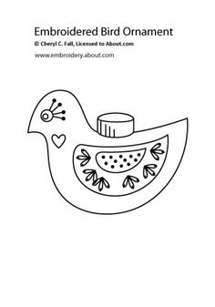 The Bird Shaped Ornament: The Bird Shaped Ornament
