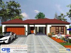 Exterior Paint Colors, Paint Colours, Bedroom House Plans, House Floor Plans, Single Storey House Plans, Site Plans, Garage Plans, Home Collections, House Design