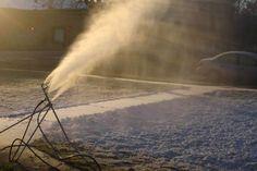 Deze winter geen sneeuw? Alle spullen zijn er om een sneeuwkanon te maken, maar wie zet 'm in elkaar? Free Home Snowmaking Machine Plans - SN Snowmaking 2011-2012