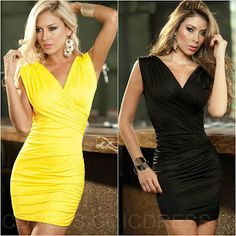 Team yellow or black? Let us know...   #fashion