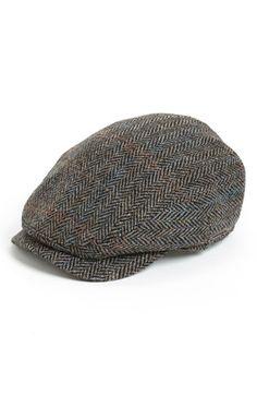 bishop-- day Wigens Harris Tweed Driving Cap available at Mens Cowboy Hats, Western Hats, Sharp Dressed Man, Well Dressed Men, Driving Cap, Derby, Tweed Fabric, News Boy Hat, Harris Tweed