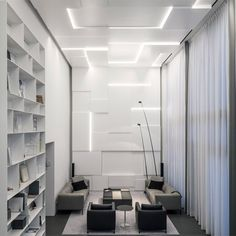 Square Compositions Penthouse designed by Pitsou Kedem Architects