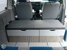 Amenagement, meuble, coffre, tiroir vw multivan t4