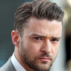 Cool Comb Over + Tapered Sides