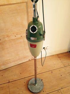 Lamp van jaren 50 stofzuiger.