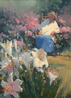 ARCHIVE - John Crump, Painter in Paradise -repinned by http://LinusGallery.com  #art #artists #oilpainting