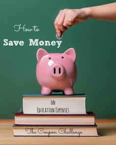How to Save money on Education Expenses.   This week we are going to look at some specific education related expenses and how you can save money on them while providing yourself and your children with the much needed education they deserve.