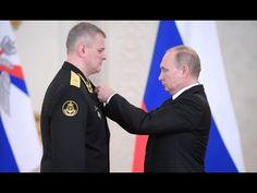 Putin Awards Participants Of Syrian Anti-Terrorist Operation