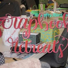 It's Scrap It Friday on the blog today! Visit now to see one of my favorite places for scrapbook retreats!