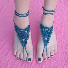 Goddess Barefoot Sandals by Gleeful Things, via Flickr