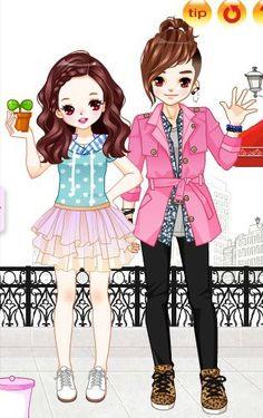 Cute Korean Cartoon Love Here are some cute chibis