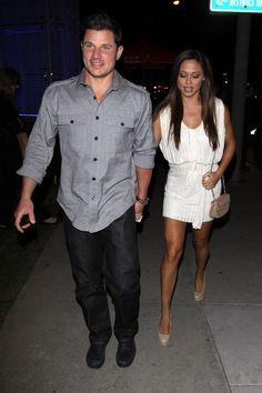 Nick Lachey and Vanessa Lachey Photo - Nick Lachey and Vanessa Minnillo Leave BOA Steakhouse
