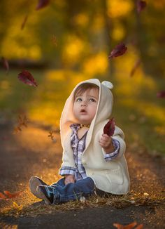 Fall Wonder by Amy Runge - Photo 125218177 / Cute Kids Pics, Cute Baby Girl Pictures, Cute Baby Couple, Cute Little Baby, Cute Baby Girl Wallpaper, Cute Babies Photography, Foto Baby, Beautiful Children, Belle Photo