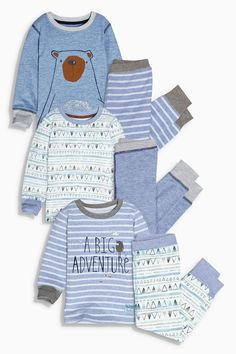 Buy Three Pack Big Adventure Snuggle Fit Pyjamas (9mths-8yrs) from the Next UK online shop