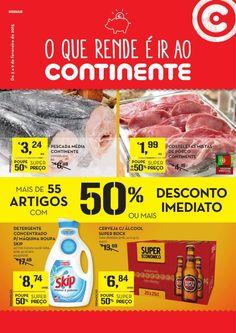 Folheto Continente Já Online! - Antevisão Promoções de 3 a 9 de Fevereiro - O que rende é ir ao Continente