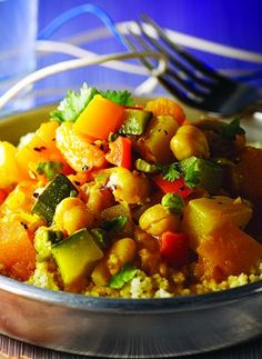 Moroccan Couscous with Fig and Butternut Squash
