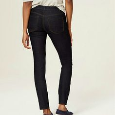 LOFT CURVY skinny jeans, 10 . LOFT Jeans Skinny